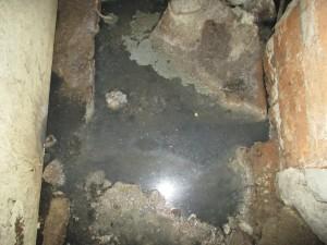 запушена канална шахта